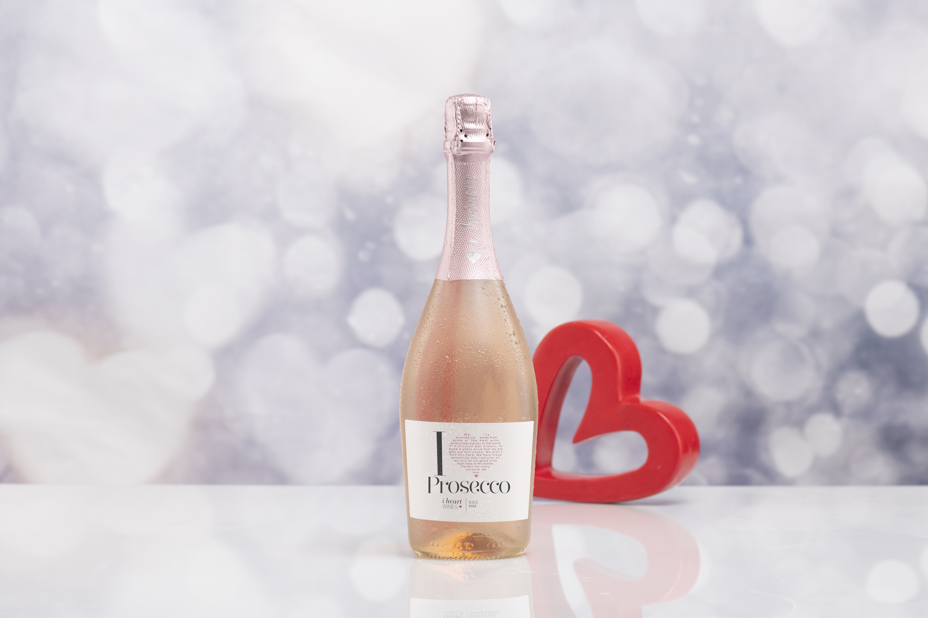 Tickled Pink by the arrival of Prosecco Rosé