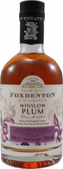 Foxdenton Winslow Plum Gin 35cl