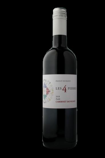 Les 4 Pierres Cabernet Sauvignon 2019 IGP Aude