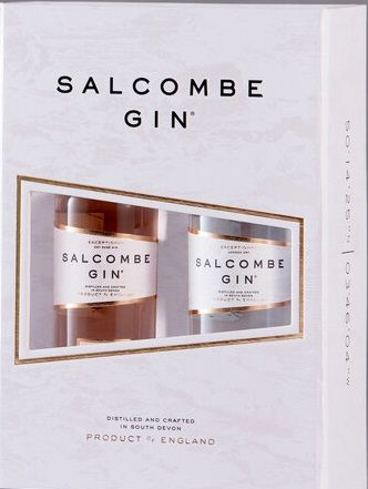 Salcombe Gin 2x5cl miniatures Gift Box