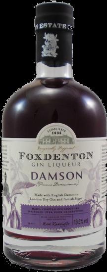 Foxdenton Damson Gin Half Bottle