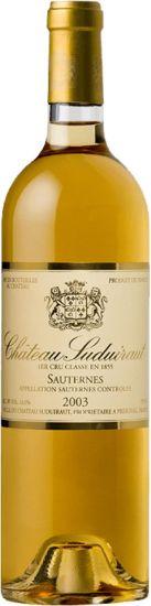 Chateau de Suduiraut 2003 Sauternes Half Bottle