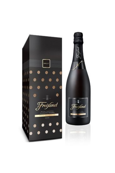 Freixenet Cordon Negro with Limited-Edition Gift Box