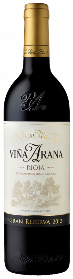 Vina Arana Gran Reserva 2012 La Rioja Alta
