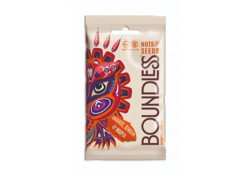 Boundless Activated Nuts & Seeds Orange, Ginger & Maple