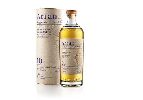 Arran Single Malt Scotch Whisky 10 Years old