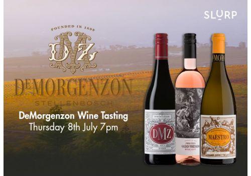 DeMorgenzon Wine Tasting  Case - 8th July 2021