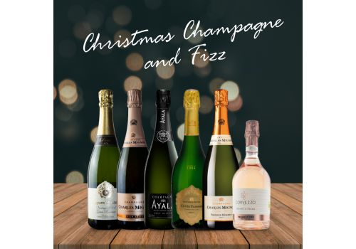 Christmas Champagne and Fizz – 6 bottles – SAVE over £30!