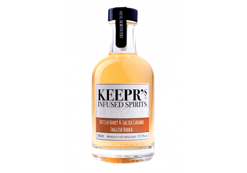 Keepr's British Honey & Salted Caramel Vodka 70cl