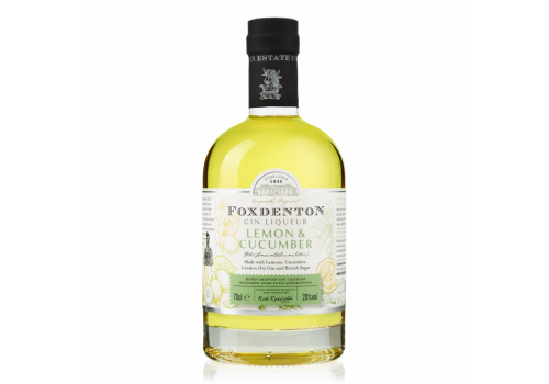 Foxdenton Gin Liqueur 'Lemon & Cucumber' 70cl