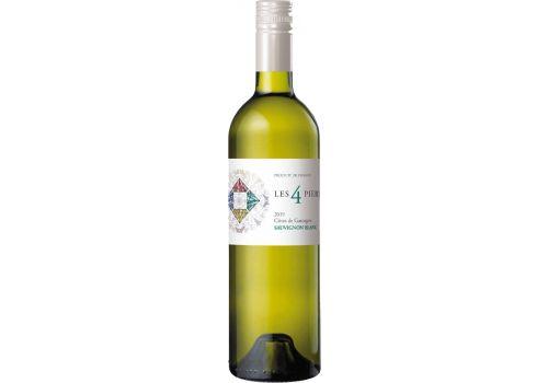 Les 4 Pierres Sauvignon Blanc 2020 Cotes de Gascogne