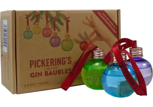 Pickering's 6 Gin Baubles Gift Pack