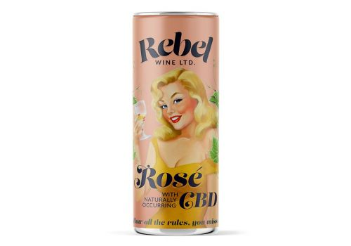 Rebel Wine Rosé With CBD