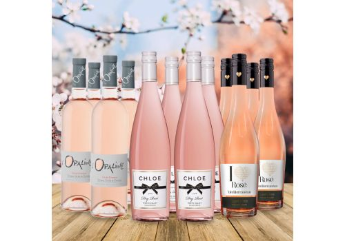 Rosé For The weekend - 12 Bottles - Save £20