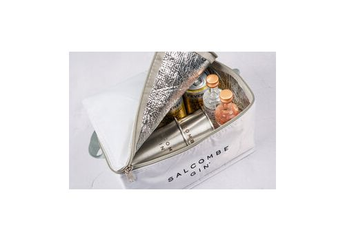 Salcombe Gin Cool Bag With Start Point and Rose Sainte Marie 5cl
