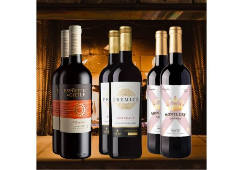 Smooth and Soft Reds - 6 Bottles - Save £15