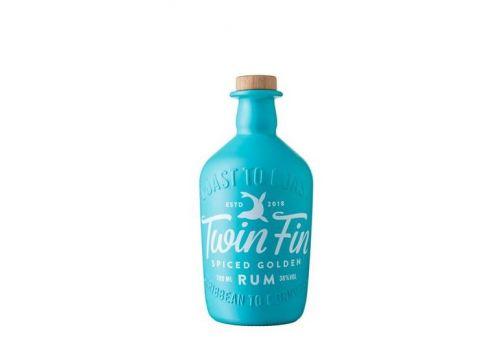 Twin Fin Spiced Golden Rum 700ml