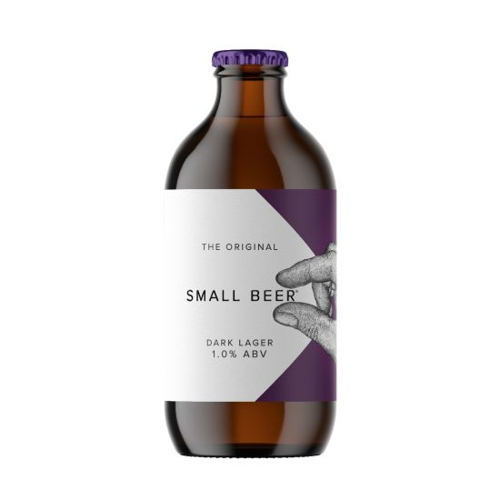 The Original Small Beer Dark Lager 1.0% ABV