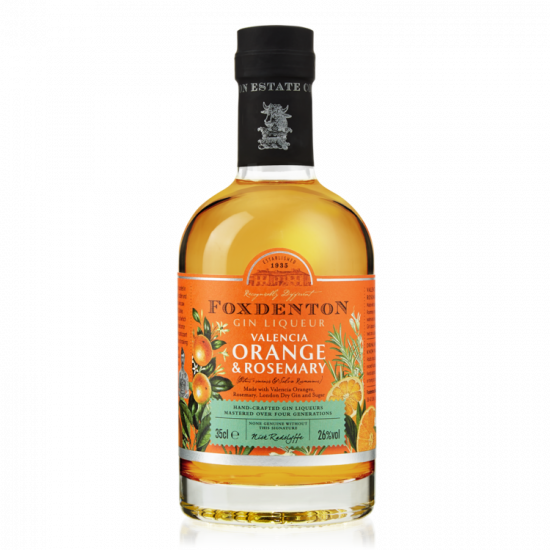 Foxdenton Gin Liqueur 'Orange & Rosemary' 35cl