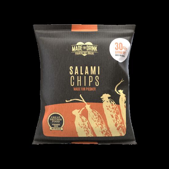 Made For Drink Salami Chips 18g