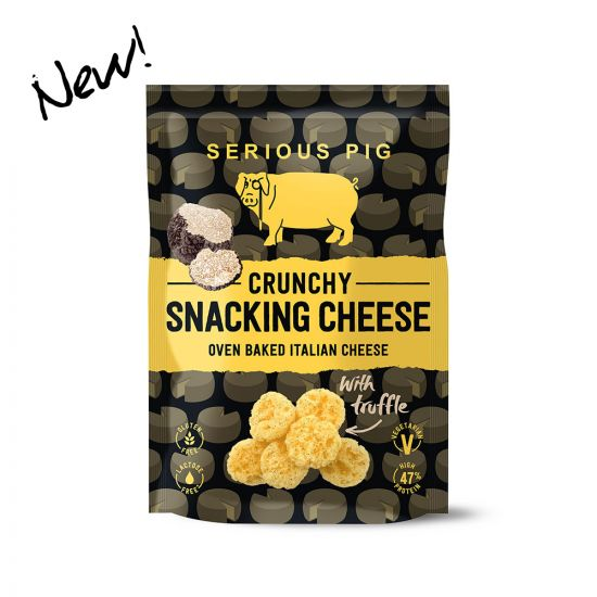 Serious Pig Crunchy Snacking Cheese 'Truffle' 24g