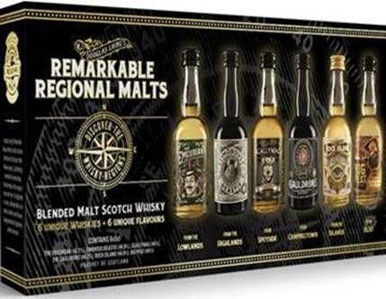 Douglas Laing Remarkable Regional Malts Tasting Set