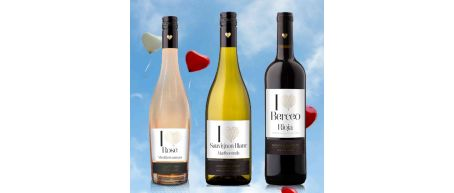i heart Wine 3 Bottle Set