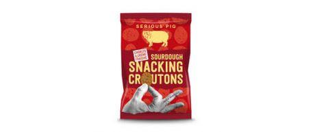 Serious Pig Chorizo and Creme Fraiche Sourdough Snacking Croutons