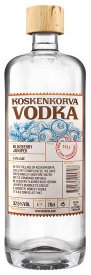 Koskenkorva Blueberry Juniper Vodka