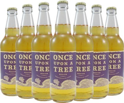 Once Upon A Tree Medium Cider 12 x 50cl