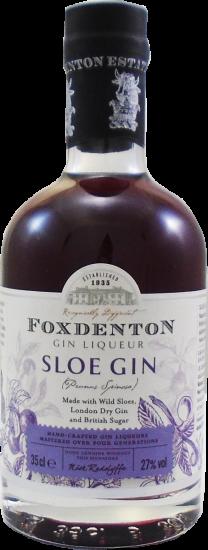 Foxdenton Sloe Gin Half Bottle