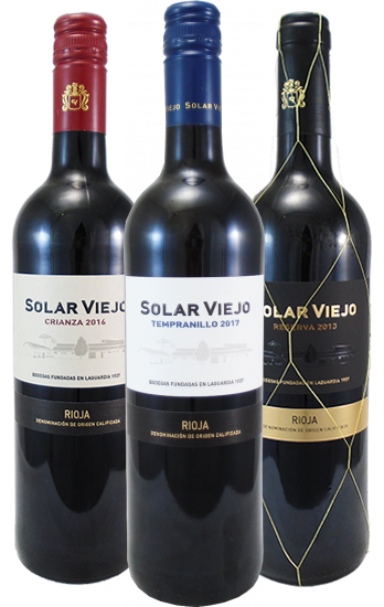 Solar Viejo Rioja Mixed Case - 6 Bottles