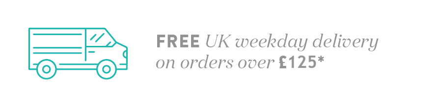 Free delivery on UK Mainland orders over £125*