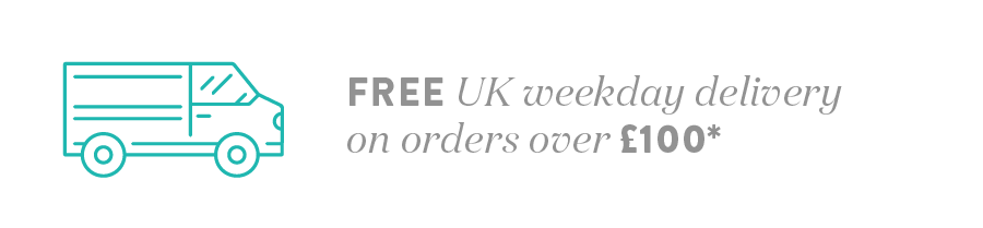 Free delivery on UK Mainland orders over £100*
